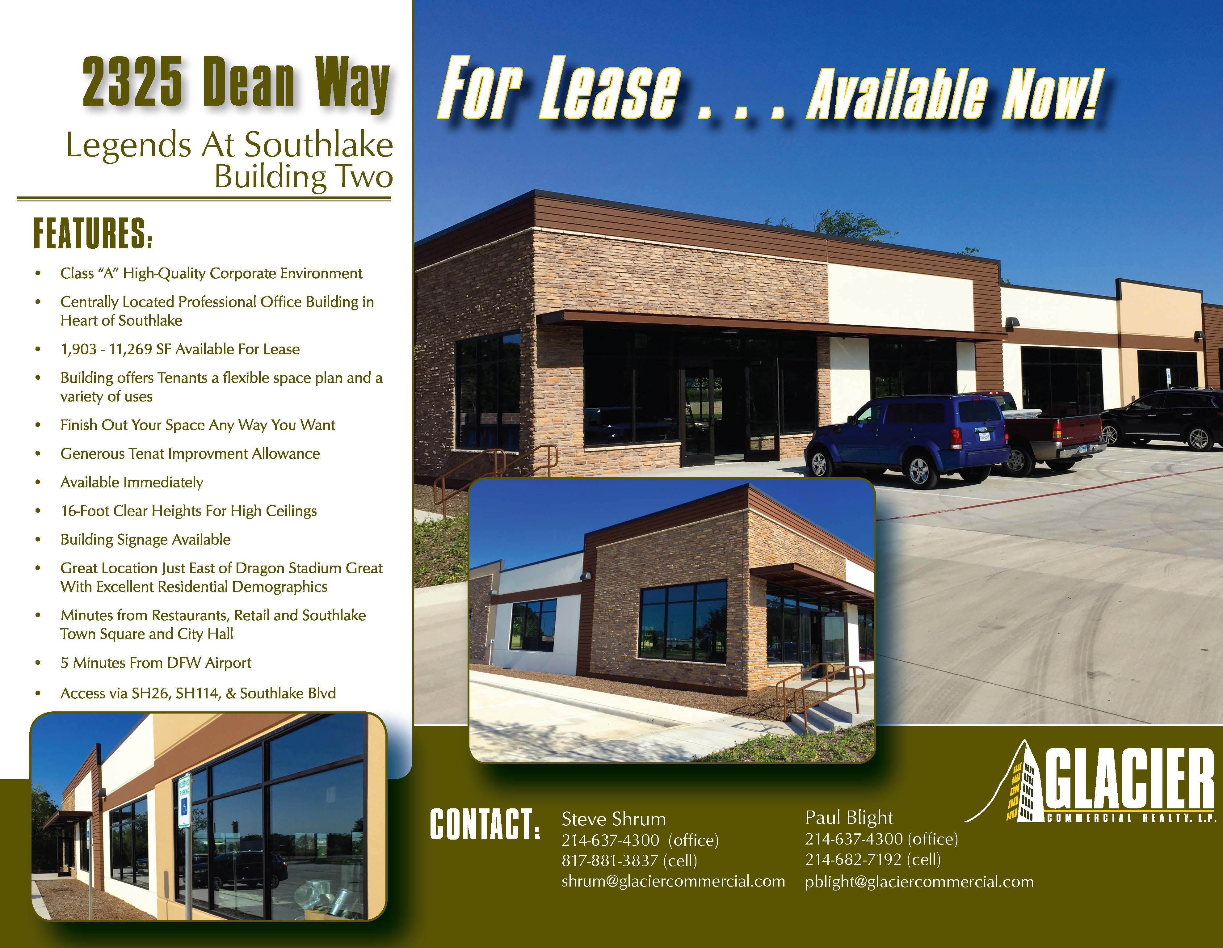 http://glaciercommercial.s3.amazonaws.com/production/photos/images/8486/original/2325_Dean_Way_Legends_At_Southlake_For_Lease_Flyer_Page_1.jpg?1437427722