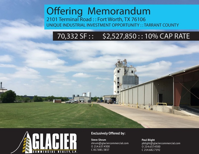 http://glaciercommercial.s3.amazonaws.com/production/photos/images/8644/original/New_Final_New_Offering_Memorandum_2101_Terminal_Road__Fort_Worth_TX_76106__Page_1.jpg?1498667661